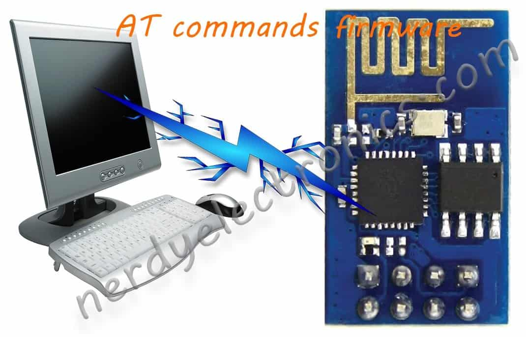 ESP8266 - AT commands firmware
