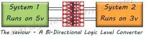 The Bi-Directional Logic Level Converter