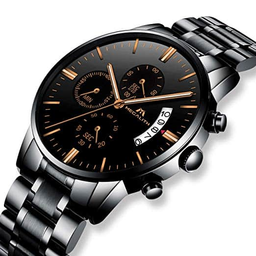 How does a watch keep working at the same pace until the last drop of a battery cell?